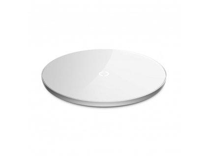 Bezdrátová rychlá nabíječka pro iPhone - BASEUS, Simple White