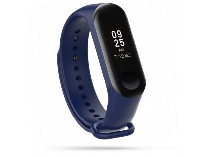 Řemínek pro Xiaomi Mi Band 3 / 4 - Tech-Protect, Smooth Navy