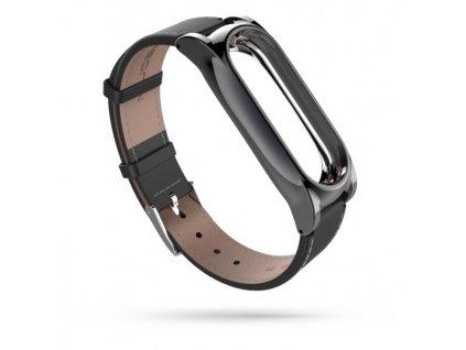 Řemínek pro Xiaomi Mi Band 3 / 4 - Tech-Protect, Herms Black