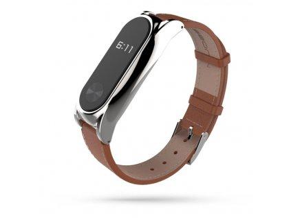 Řemínek pro Xiaomi Mi Band 3 / 4 - Tech-Protect, Herms Brown