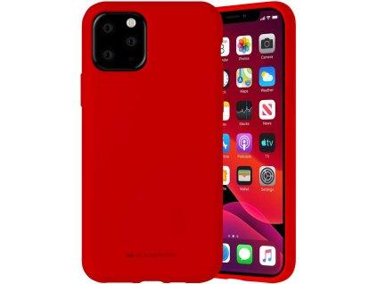 Ochranný kryt pro iPhone 11 Pro - Mercury, Silicone Red