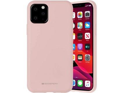 Ochranný kryt pro iPhone 11 Pro - Mercury, Silicone Pink Sand
