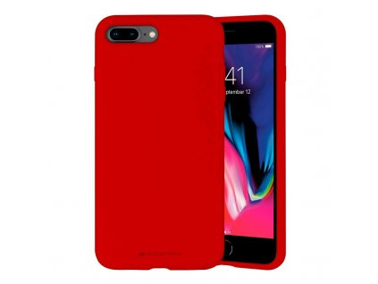 Ochranný kryt pro iPhone 7 PLUS / 8 PLUS - Mercury, Silicone Red