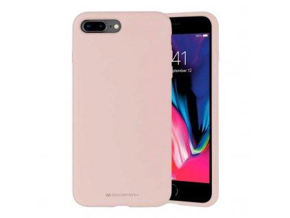 Ochranný kryt pro iPhone 7 PLUS / 8 PLUS - Mercury, Silicone Pink Sand