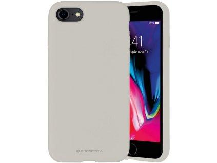 Ochranný kryt pro iPhone 7 / 8 / SE (2020) - Mercury, Silicone Stone