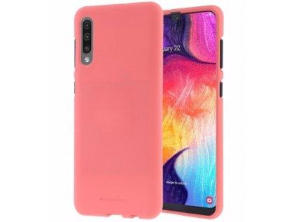 Ochranný kryt na Samsung GALAXY A70 A705F - Mercury, Soft Feeling Pink