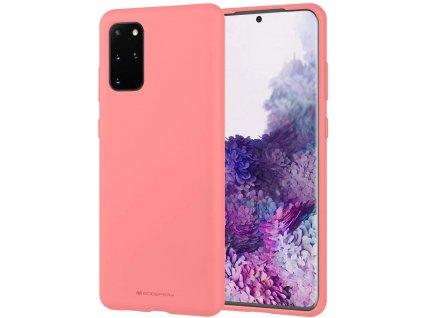 Pouzdro / kryt pro Samsung GALAXY S20 PLUS - Mercury, Soft Feeling Pink