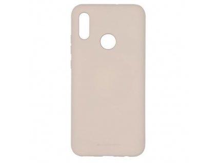 Ochranný kryt pro Huawei P Smart (2019) - Mercury, Soft Feeling Pink Sand