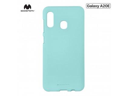 Ochranný kryt na Samsung GALAXY A20E A202F - Mercury, Soft Feeling Mint
