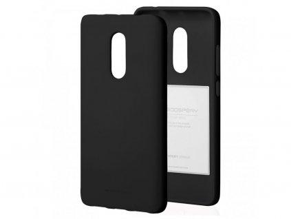 Ochranný kryt pro Xiaomi Redmi Note 8 - Mercury, Soft Feeling Black