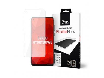 Ochranné tvrzené sklo na Motorola Moto G8 Power - 3MK, Flexible Glass