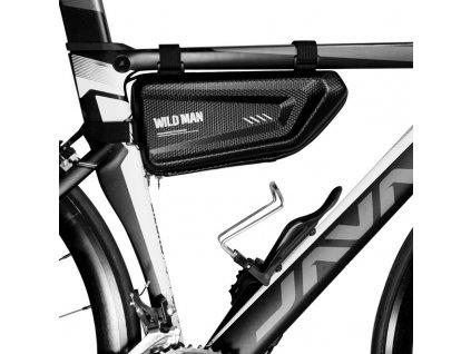 Cyklotaška / brašna na kolo - WildMan, Sakwa E4 Black