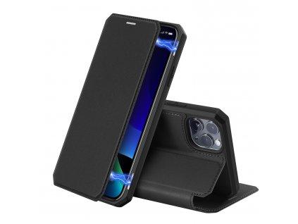 Knížkové pouzdro na iPhone 11 Pro - DuxDucis, SkinX Black