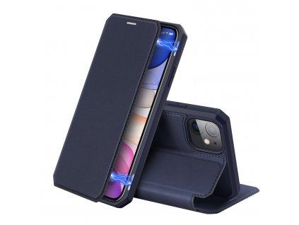 Knížkové pouzdro na iPhone 11 - DuxDucis, SkinX Blue