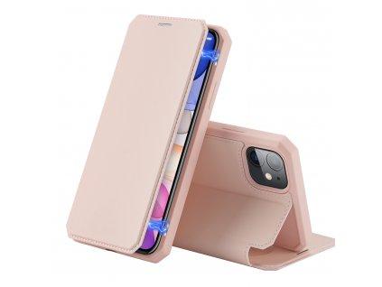 Knížkové pouzdro na iPhone 11 - DuxDucis, SkinX Pink