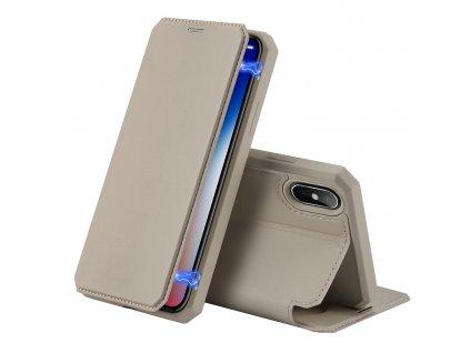 Pouzdro pro iPhone XS / X - DuxDucis, SkinX Gold