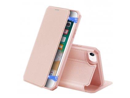 Pouzdro pro iPhone 7 / 8 / SE (2020) - DuxDucis, SkinX Pink