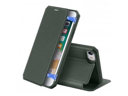 Pouzdro pro iPhone 7 / 8 / SE (2020) - DuxDucis, SkinX Green