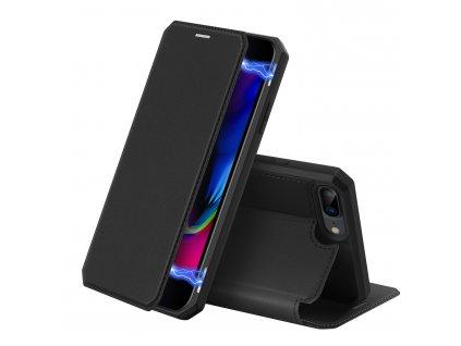 Pouzdro pro iPhone 7 Plus / 8 Plus - DuxDucis, SkinX Black