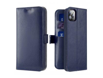 Knížkové pouzdro na iPhone 11 Pro MAX - DuxDucis, Kado Blue