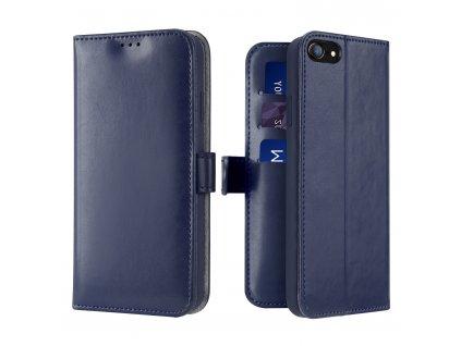 Knížkové pouzdro na iPhone 7 / 8 / SE (2020) - DuxDucis, Kado Blue