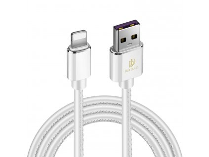 Kabel Lightning pro iPhone a iPad - DuxDucis, K-MAX White