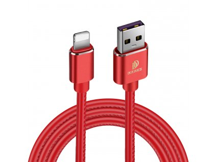 Kabel Lightning pro iPhone a iPad - DuxDucis, K-MAX Red