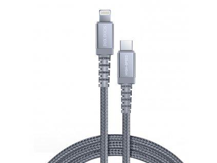Certifikovaný kabel USB-C/Lightning - DuxDucis, X2 100CM