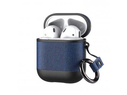 Pouzdro pro sluchátka AirPods - DuxDucis, Domo Blue
