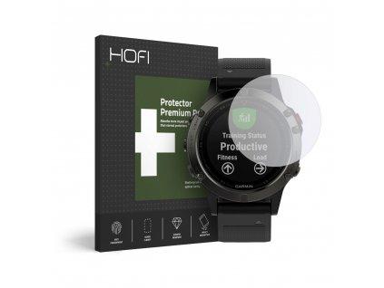 Hybridní ochranné sklo na Garmin Fenix 5 / 6 / 6 PRO - Hofi, Glass Pro+