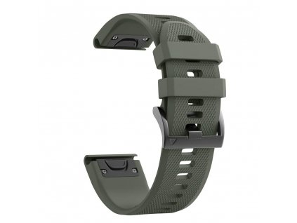Řemínek pro Garmin Fenix 3 / 5X / 3HR / 5X PLUS / 6X / 6X PRO - Tech-Protect, Smooth Green