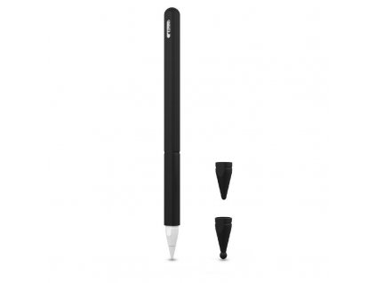 Obal pro Apple Pencil 2 - Tech-Protect, Smooth Black