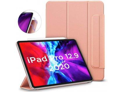 Pouzdro / kryt pro iPad Pro 12.9 (2018/2020) - ESR, Rebound Magnetic Rose