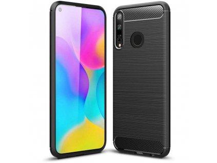 Pouzdro pro Huawei P40 LITE E - Tech-Protect, Tpucarbon Black
