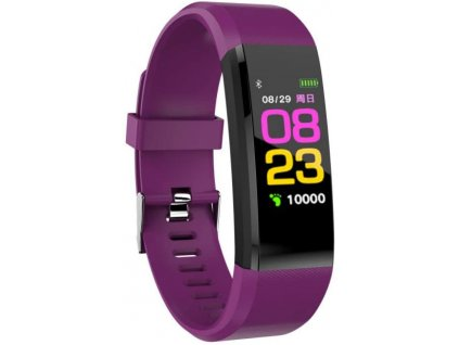 Bluetooth fitness náramek - 115plus Purple