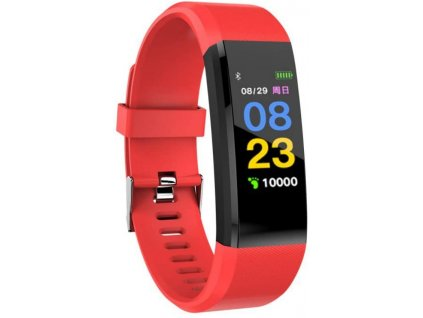 Bluetooth fitness náramek - 115plus Red