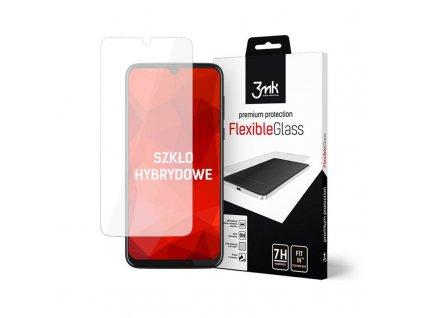 Ochranné tvrzené sklo na Motorola Moto G8 PLUS - 3MK, Flexible Glass