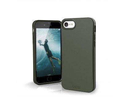 Ochranný EKO kryt pro iPhone SE (2020) - UAG, Outback Olive