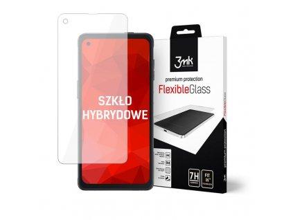 Ochranné tvrzené sklo na Samsung Galaxy Xcover Pro - 3MK, Flexible Glass