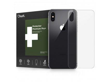 Hybridní ochranné sklo na zadní stranu iPhone XS / X - Hofi, Glass Pro+ Back