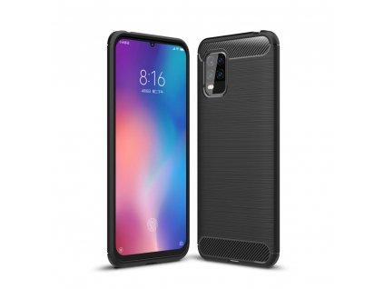 Ochranný kryt pro Xiaomi Mi 10 Lite - Tech-Protect, Tpucarbon Black
