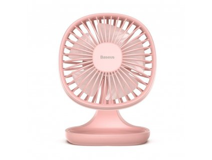 Stolní větráček - Baseus, Pudding Shaped Fan Pink