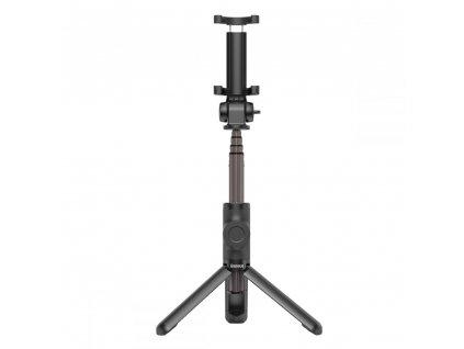 Selfie tyč s Bluetooth ovladačem a stojánkem - Baseus, Wireless Selfie Stick Tripod Black