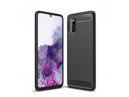 Ochranný kryt pro Samsung Galaxy A41 - Tech-Protect, Tpucarbon Black