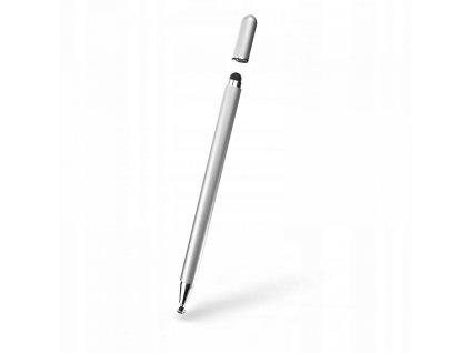 Dotykové pero / stylus - Tech-Protect, Magnet Silver