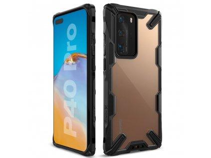 Ochranný kryt pro Huawei P40 PRO - Ringke, Fusion-X Black