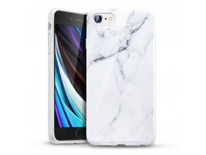 Ochranný kryt pro iPhone 7 / 8 / SE (2020) - ESR, Marble White