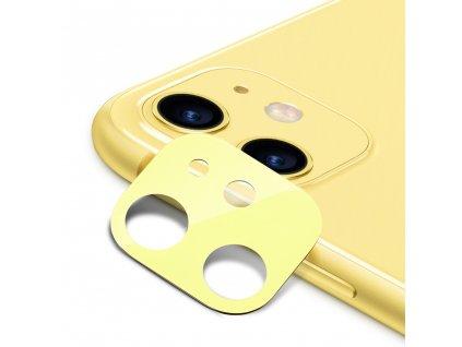 Ochranná fólie na zadní kameru iPhone 11 - ESR, Fullcover Yellow