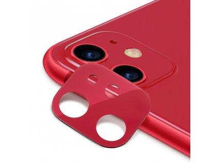 Ochranná fólie na zadní kameru iPhone 11 - ESR, Fullcover Red