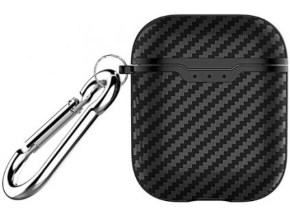 Pouzdro pro sluchátka AirPods - Devia, Noble Case Black